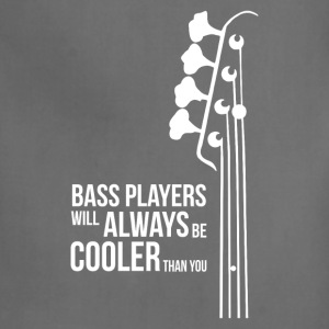 Bass Guitar Players Are Cool - Adjustable Apron