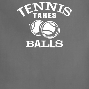 Tennis Takes Balls - Adjustable Apron