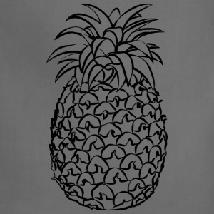 Pineapple Line Drawing - Adjustable Apron