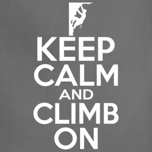 Keep Calm And Climb On - Adjustable Apron