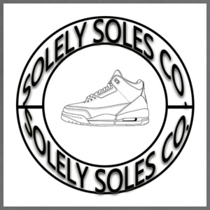 Solely Soles Circle Logo - Adjustable Apron