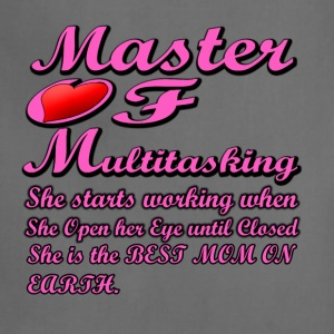 MOM Master of Multitasking T-shirt - Adjustable Apron