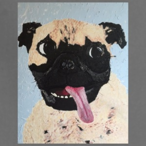 Pug Art - Adjustable Apron