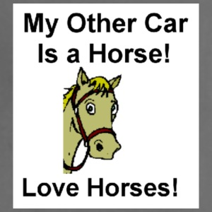 Horse T-shirt My other Car is a Horse - Adjustable Apron