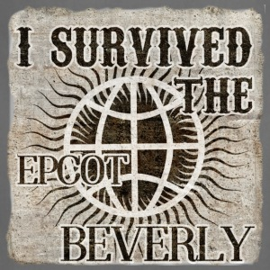 I survived the EPCOT Beverly - Adjustable Apron