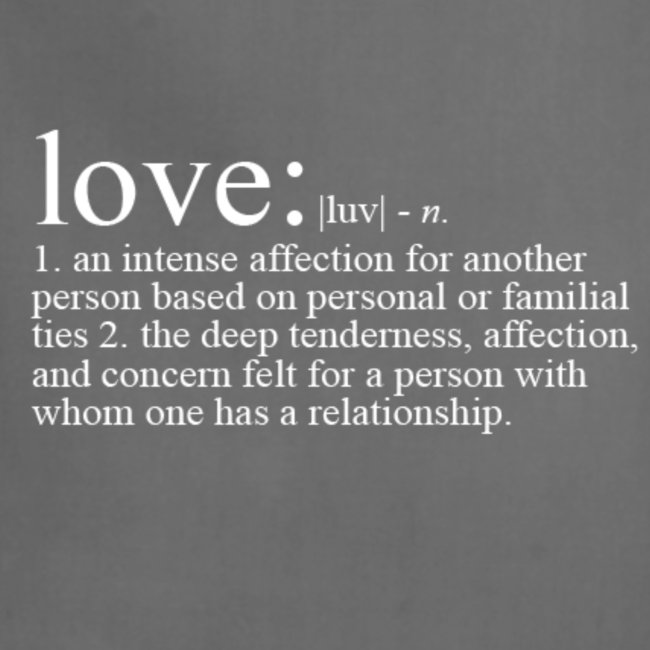 THE DEFINITION OF LOVE TEE