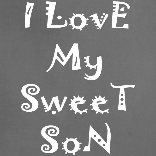 I love my sweet son