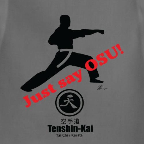 Tenshin-kai - Just Say - T-shirt - Adjustable Apron