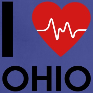 I Love Ohio - Adjustable Apron