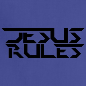 Jesus Rules - Adjustable Apron