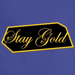 Stay Gold Brick - Adjustable Apron