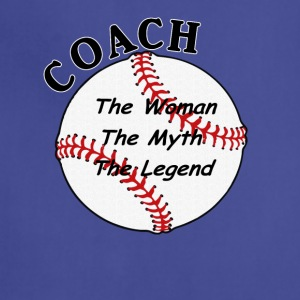 Baseball Softball Coach The Woman The Myth The L - Adjustable Apron