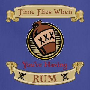 Time Flies when you're Having Rum! - Adjustable Apron