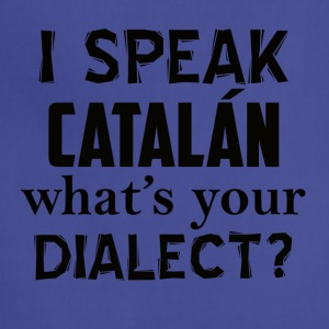 catalan dialect - Adjustable Apron