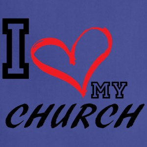 I_LOVE_MY_CHURCH - Adjustable Apron