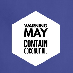 May Contain Coconut Oil 2 - Keto Diet - Adjustable Apron