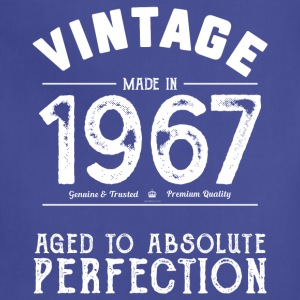 Funny 50th Birthday Present: Vintage 1967 T-Shirt - Adjustable Apron