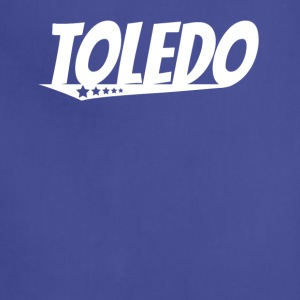 Toledo Retro Comic Book Style Logo - Adjustable Apron