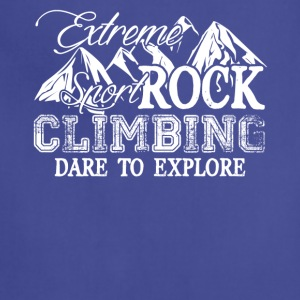Extreme Rock Climbing Shirt - Adjustable Apron