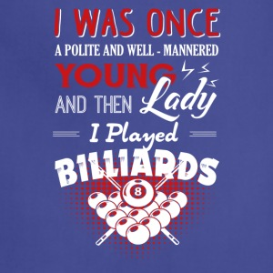Play Billiards Shirt - Adjustable Apron