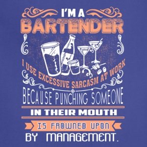 I'm Bartender T Shirt - Adjustable Apron