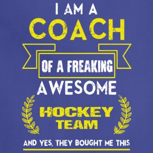 I Am A Coach T Shirt - Adjustable Apron
