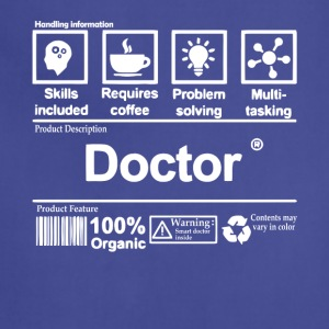 Doctor T Shirt - Adjustable Apron