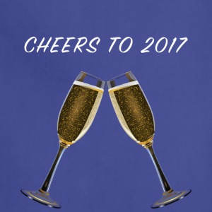 Cheers to 2017 - Adjustable Apron