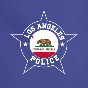 Los Angeles Police T Shirt - California flag - Adjustable Apron