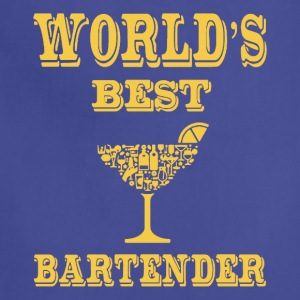 WORLD'S BEST COCKTAIL BARTENDER - Adjustable Apron