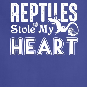 Reptiles Stole My Heart Shirts - Adjustable Apron