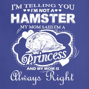 Hamster Princess Shirt - Adjustable Apron