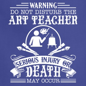 Art Teacher Shirt - Adjustable Apron