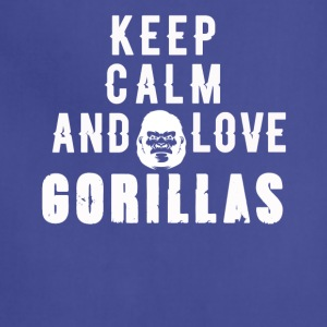 Women's Gorilla T-Shirts - Adjustable Apron