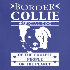 Border Collie Tee Shirt - Adjustable Apron