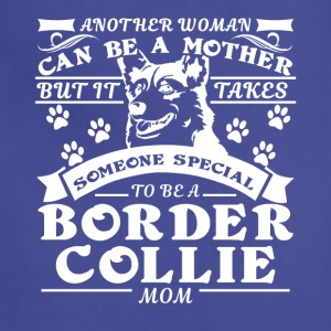 Border Collie Mom Shirt - Adjustable Apron