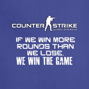 Best CSGO Shirts | Win More Rounds | CSGO Tshirts - Adjustable Apron