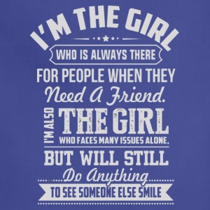 I'm the girl shirt - Adjustable Apron