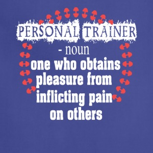 Personal Trainer Shirt - Adjustable Apron