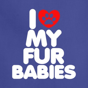 I Love My Fur Babies T-Shirt - Adjustable Apron