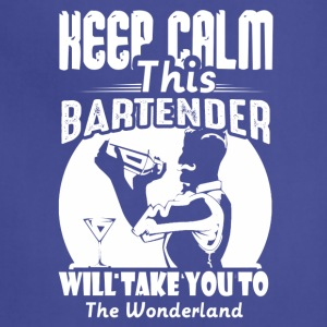 CALM WONDERLAND BARTENDER TEE - Adjustable Apron