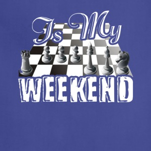 This Is My Weekend Chess Tshirt - Adjustable Apron