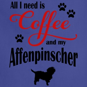 Affenpinscher Coffee - Adjustable Apron