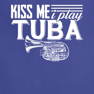 I Play Tuba Tee Shirt - Adjustable Apron