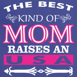 The Best Kind Of Mom Raises An USA - Adjustable Apron