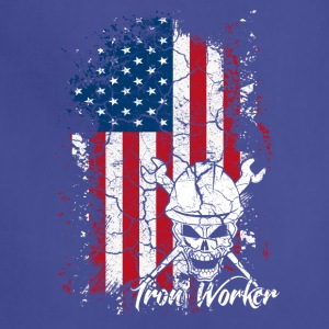 Iron Worker Flag Shirt - Adjustable Apron