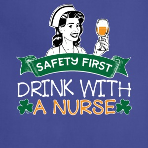 07 SAFETY FIRST DRINK WITH A NURSE - Adjustable Apron