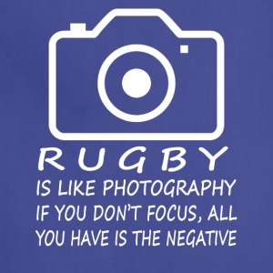 Rugby Like Photography-cool shirt,geek hoodie,tank - Adjustable Apron