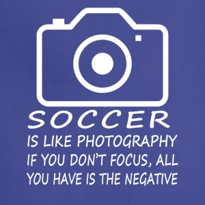 Soccer Like Photography-cool shirt,geek hoodie - Adjustable Apron