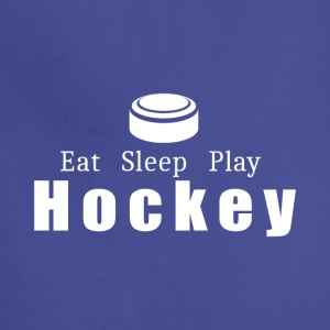 Eat Sleep Play Hockey- cool shirt,geek hoodie,tank - Adjustable Apron